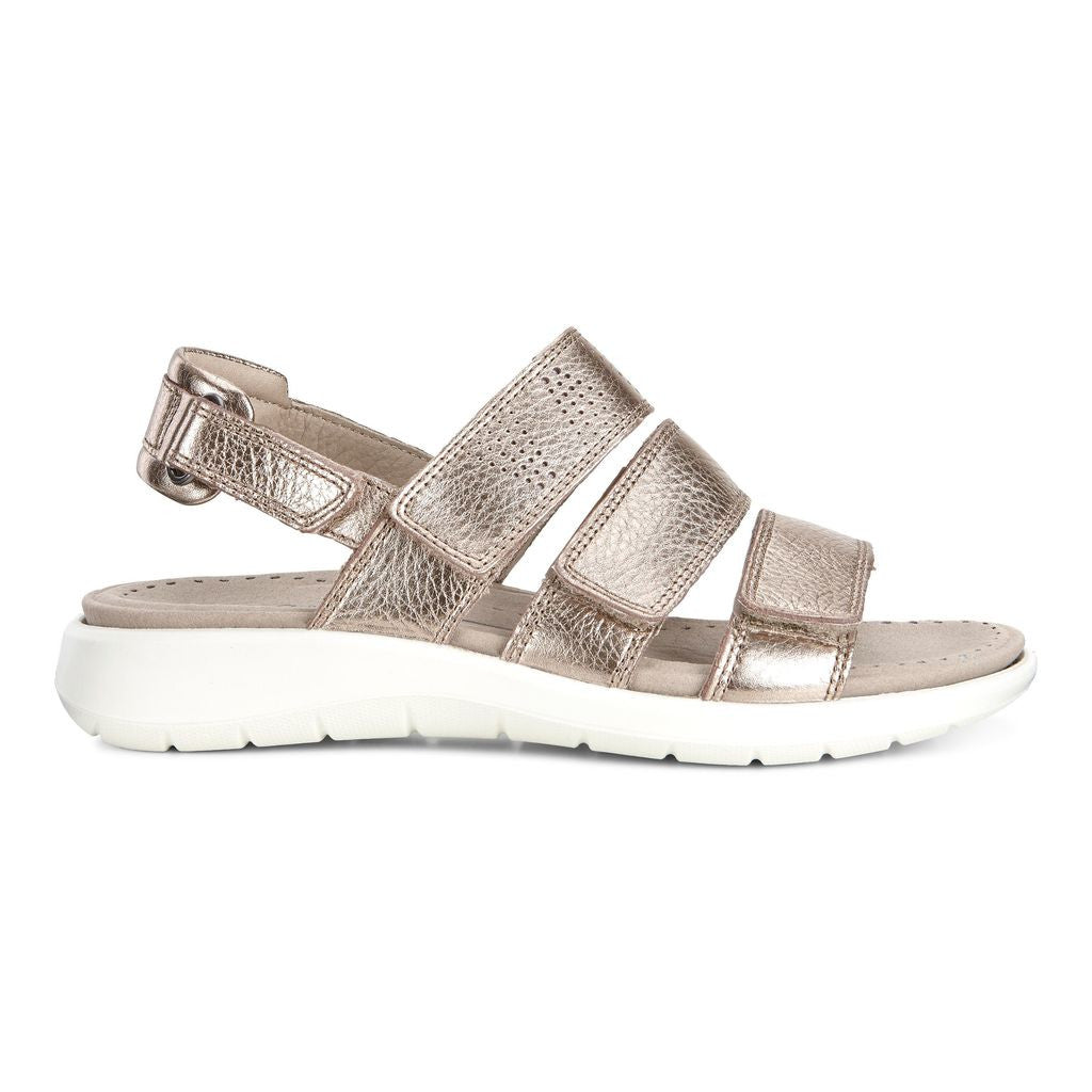 Women's Soft 5 3-Strap Sandal - Warm Grey