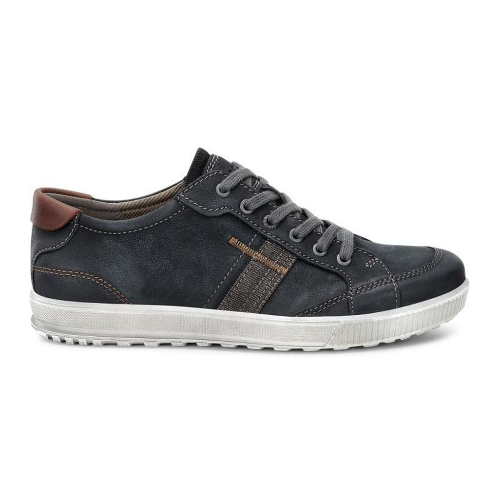 Men's Ennio Retro Sneaker - Black/Cognac