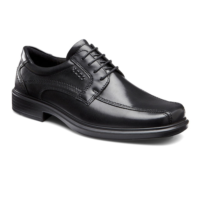 Men's Ecco Helsinki Bike Toe Lace - Black