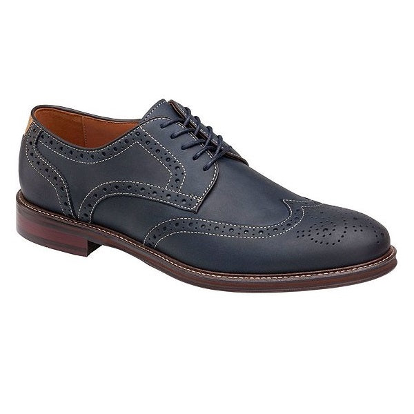 Men's Johnston & Murphy Warner Wingtip - Navy