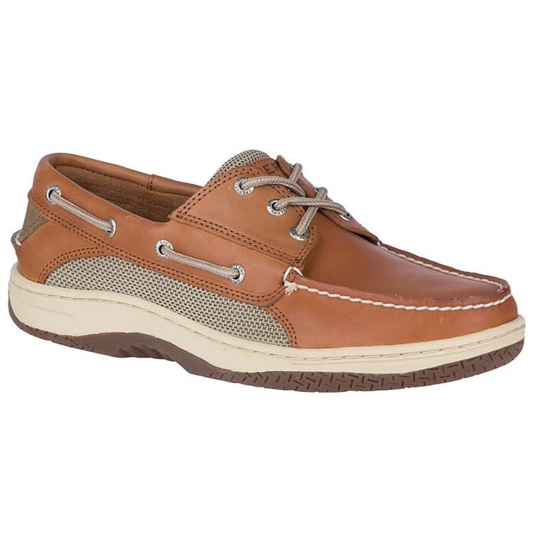 Men's Sperry Billfish 3-Eye Boat Shoe - Dark Tan
