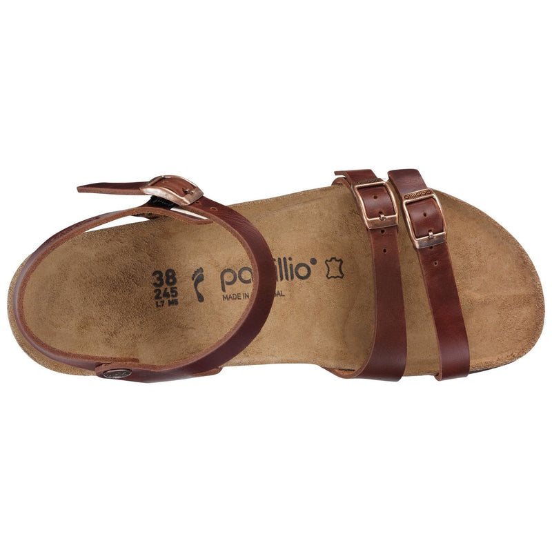 Women's Papillio Lana Wedge - Cognac Leather