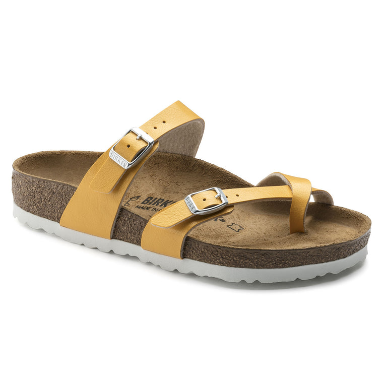 Women's Birkenstock Mayari Amber Yellow Sandals