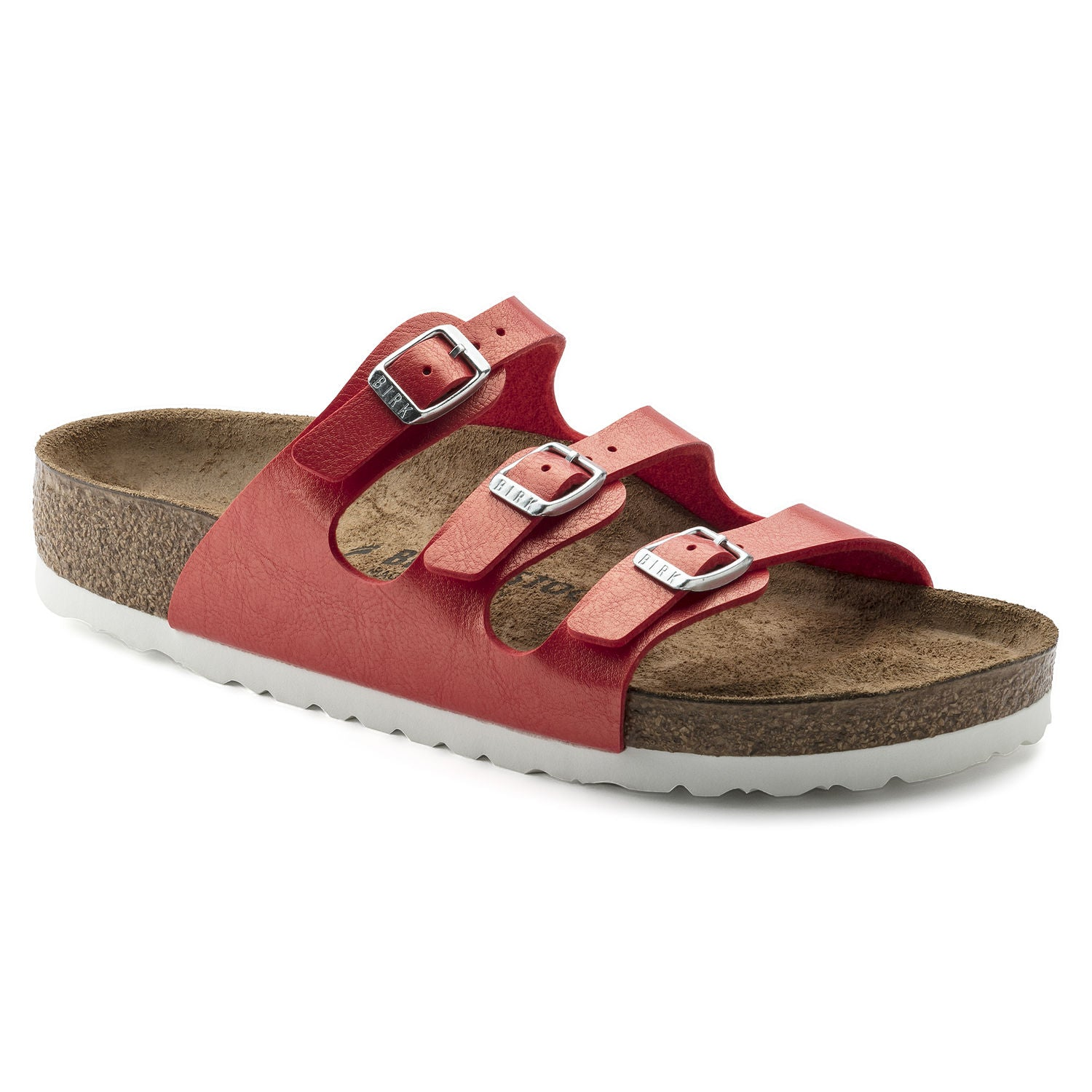 Women's Birkenstock Florida Graceful Hibiscus Slides