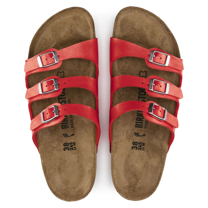 Women's Birkenstock Florida Birko-Flor - Graceful Hibiscus