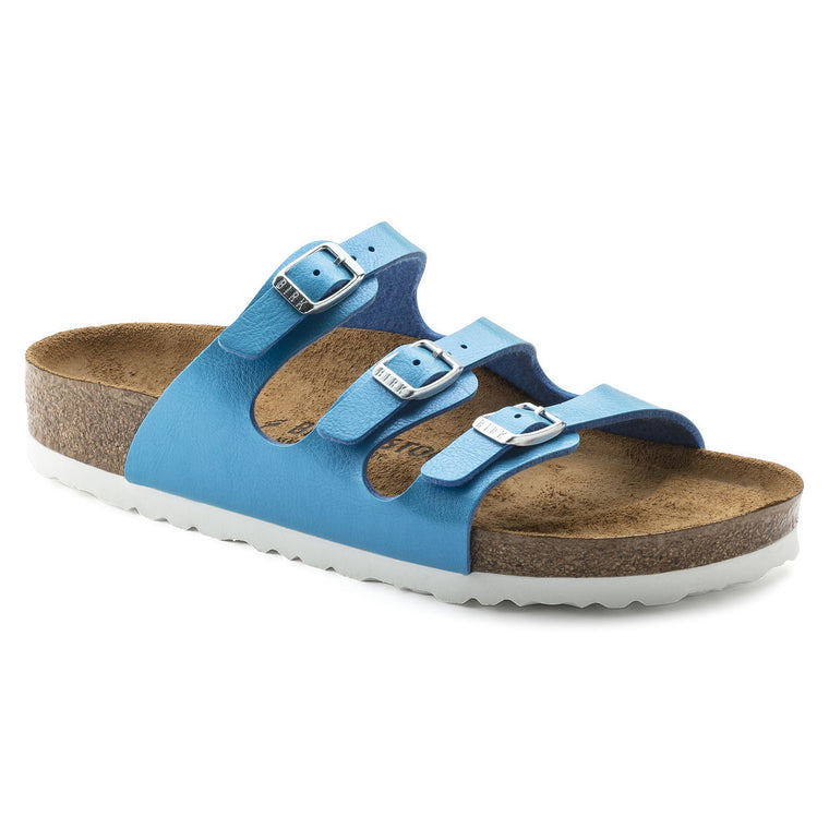 Women's Birkenstock Florida Ocean Blue Slides