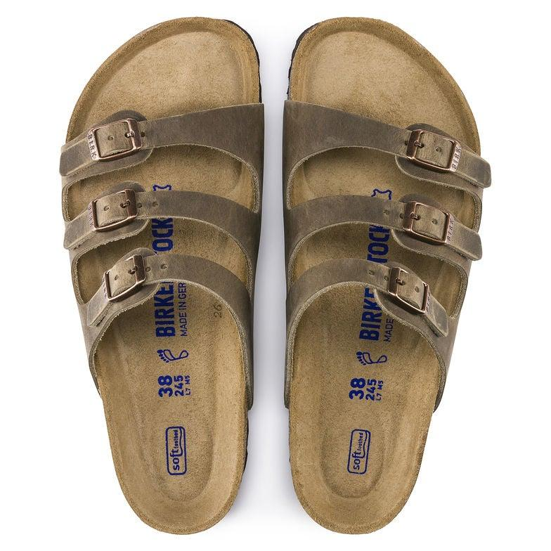 Women's Birkenstock Florida Soft Footbed - Tobacco Oiled Leather