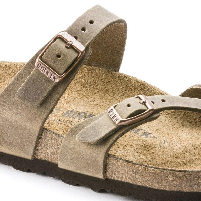 Women's Birkenstock Mayari - Tobacco Oiled Leather