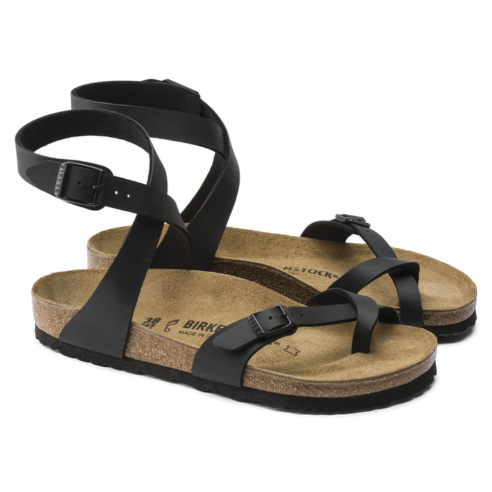 Women's Birkenstock Yara Sandals - Black