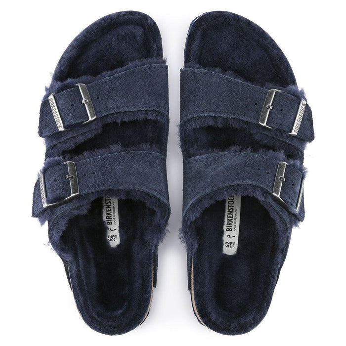 Birkenstock Women's Arizona Shearling Suede - Night