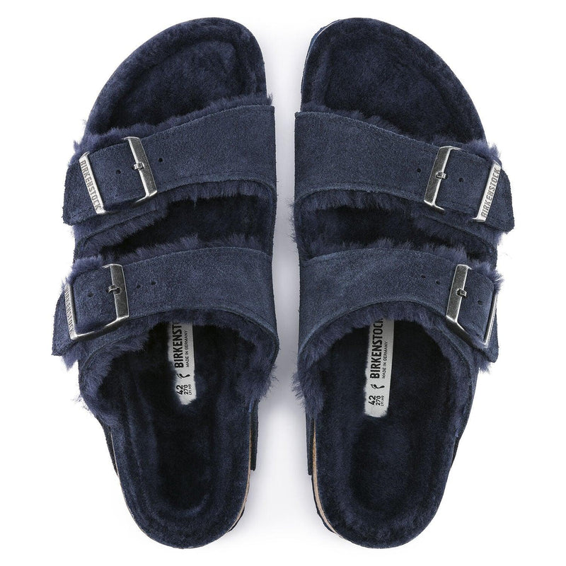 Women's Birkenstock Arizona Shearling Suede - Night