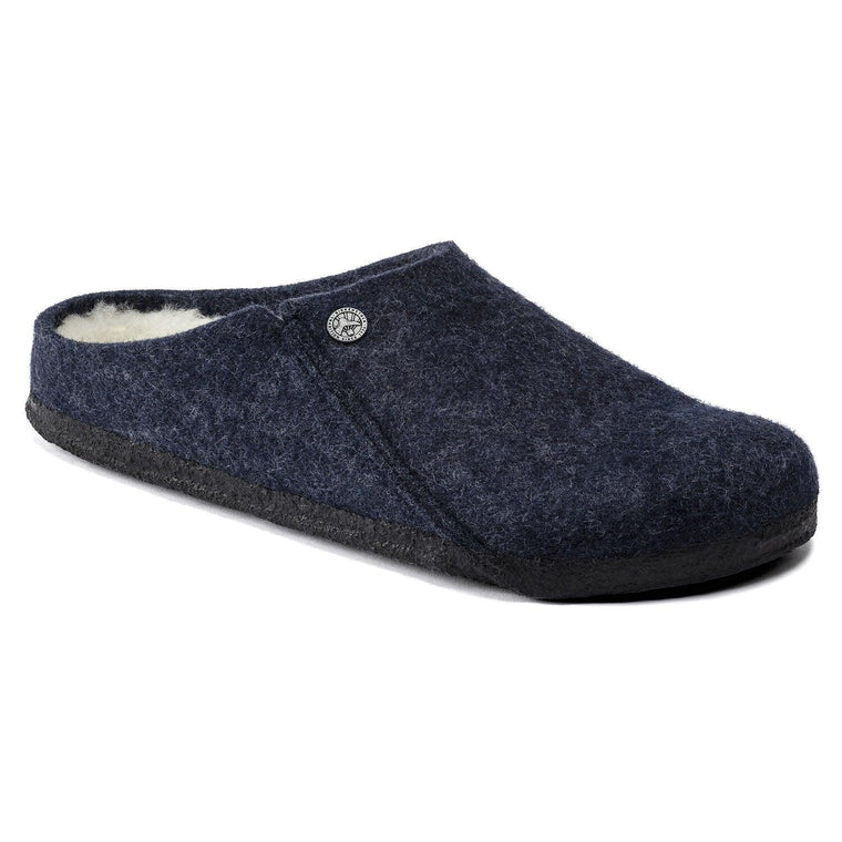 Birkenstock Women's Zermatt Wool Felt Slipper - Dark Blue