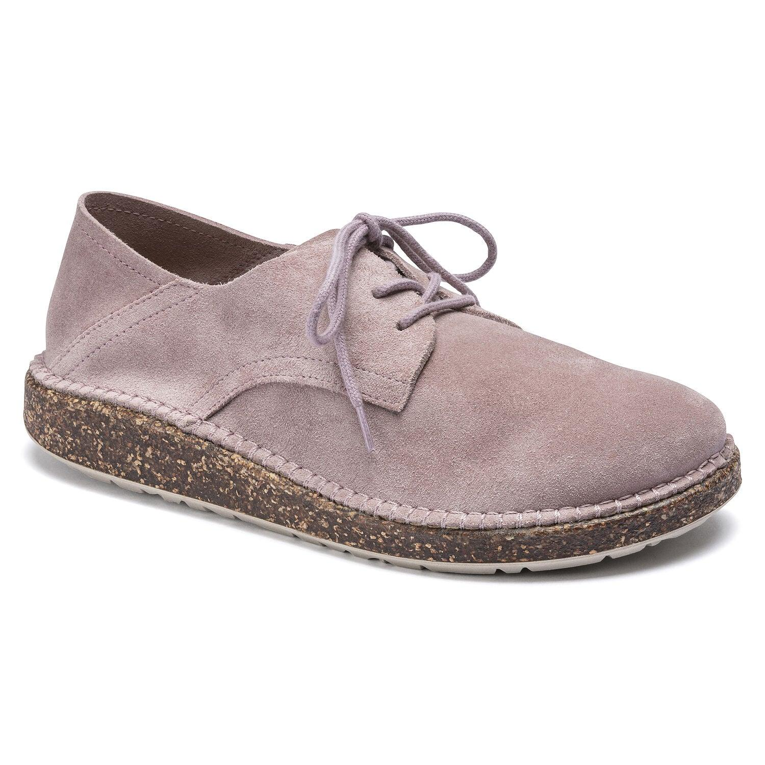 Birkenstock Women's Gary Lace-Up Shoe - Lavender Suede