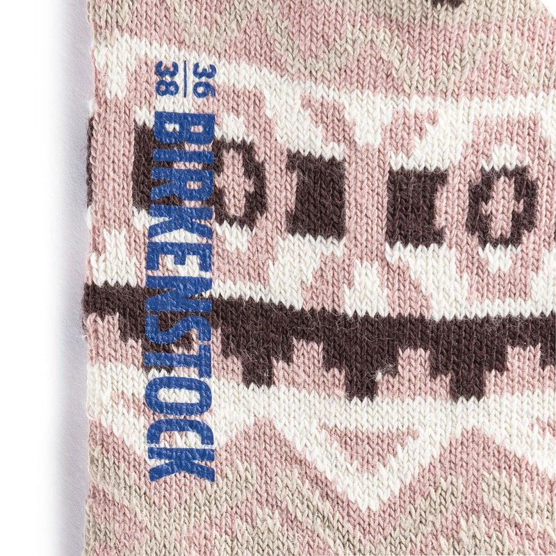 Birkenstock Women's Cotton Jacquard Socks - Misty Rose