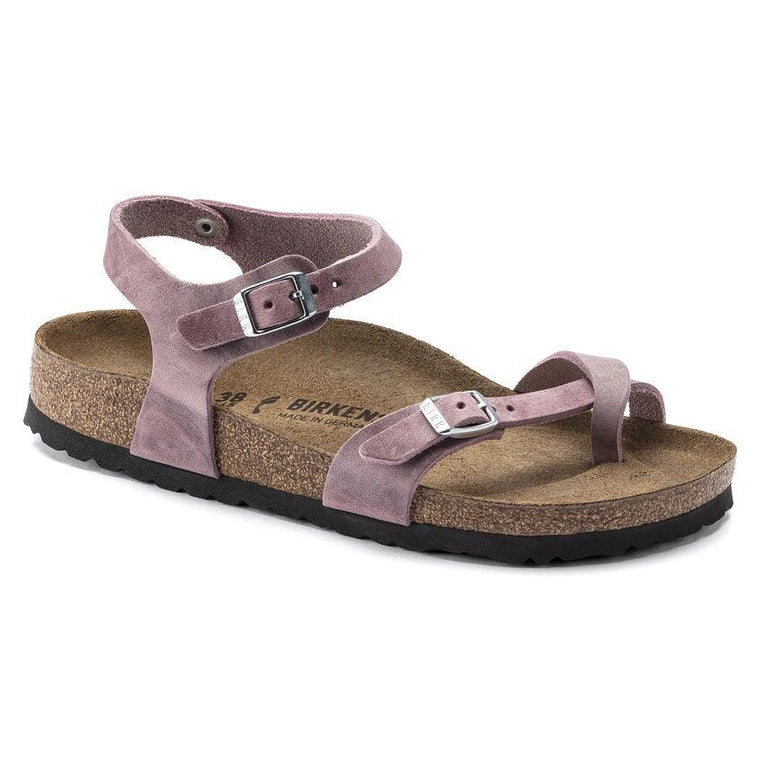 Birkenstock Women's Taormina Sandals - Lavender Blush Oiled Leather