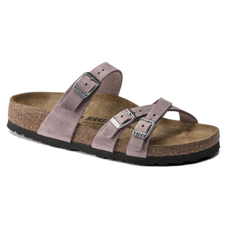 Birkenstock Women's Franca Sandal - Lavender Blush Oiled Leather