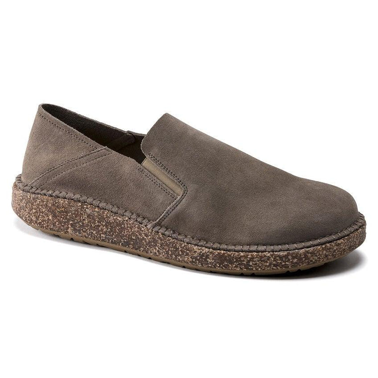 Birkenstock Women's Callan Slip-On Shoes - Gray Taupe Suede