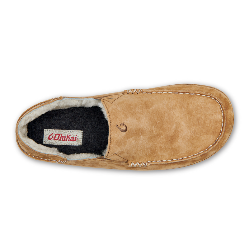 OluKai Men's Moloa Slipper - Tobacco/Tobacco