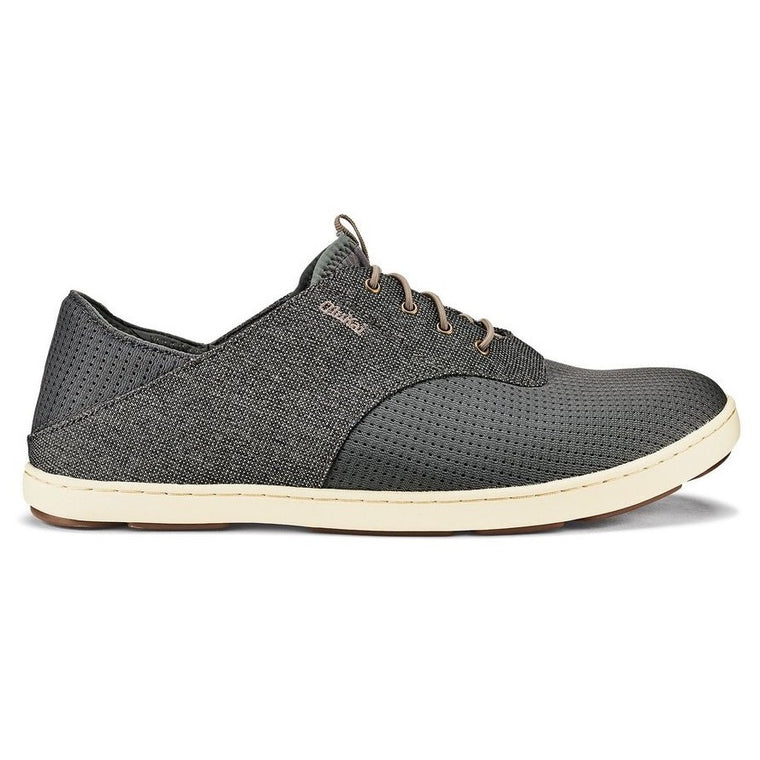 Men's OluKai Nohea Moku Slip On Shoes - Charcoal/Clay