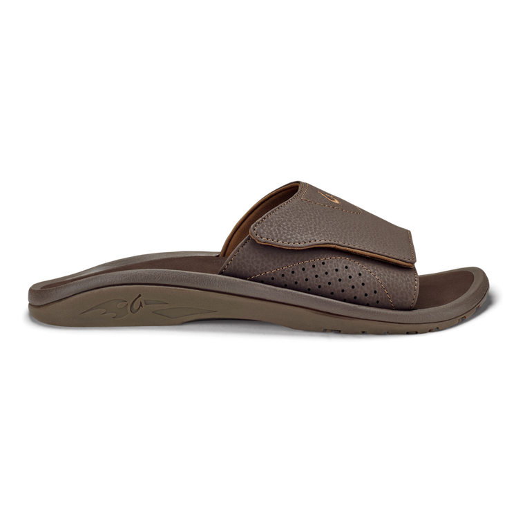 Olukai Men's Nalu Slide Sandals - Dark Java