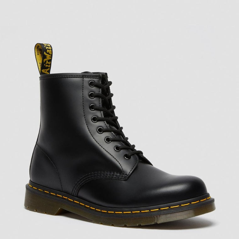 Dr. Martens Men's 1460 Smooth Leather Lace Up Boots - Black Smooth