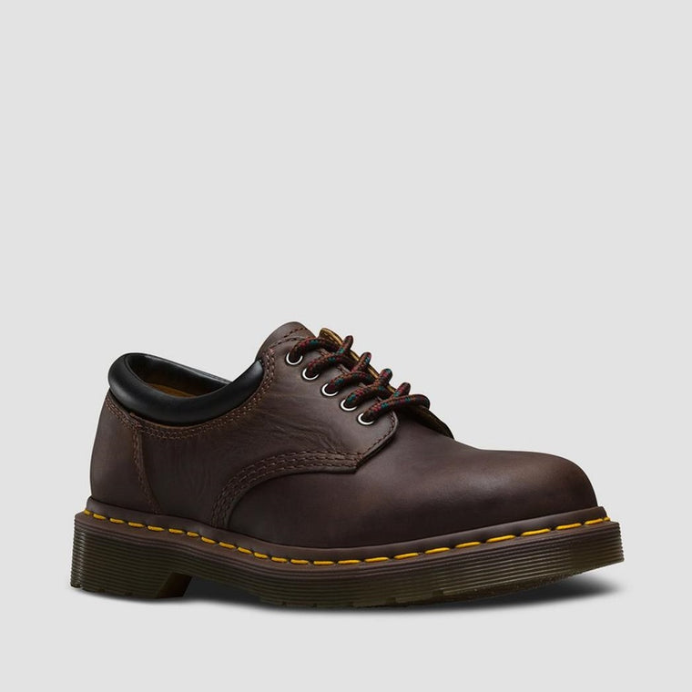 Dr. Martens Men's 8053 Crazy Horse Leather Casual Shoes - Gaucho Crazy Horse