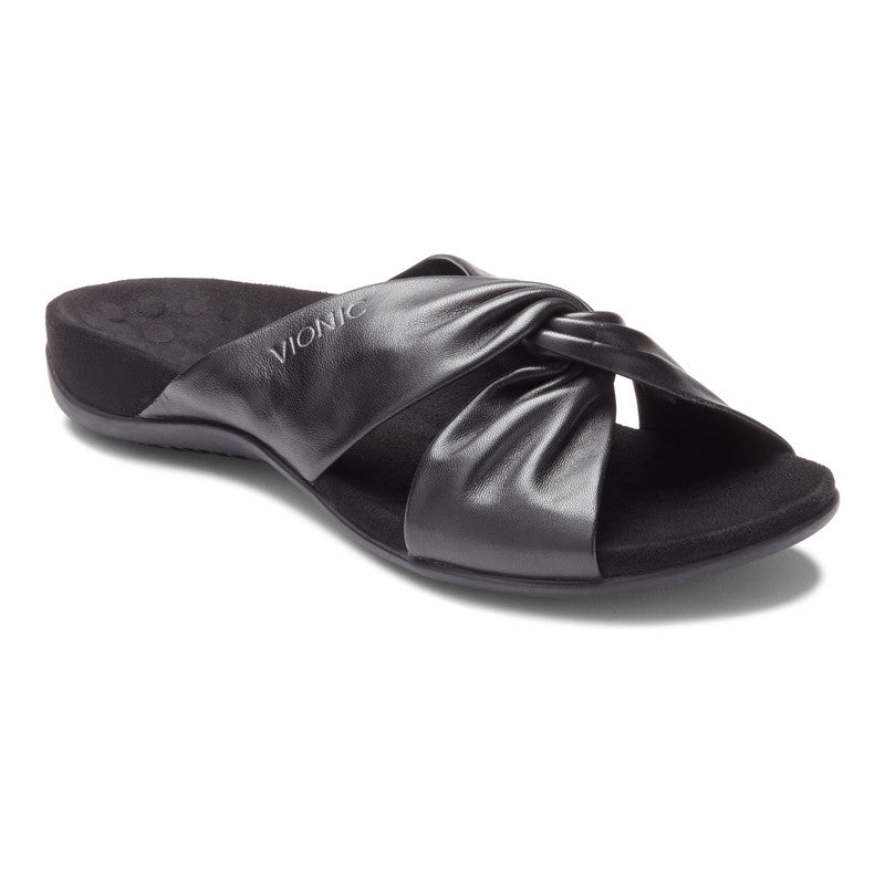 Women's Vionic Shelley Slide Sandal - Black
