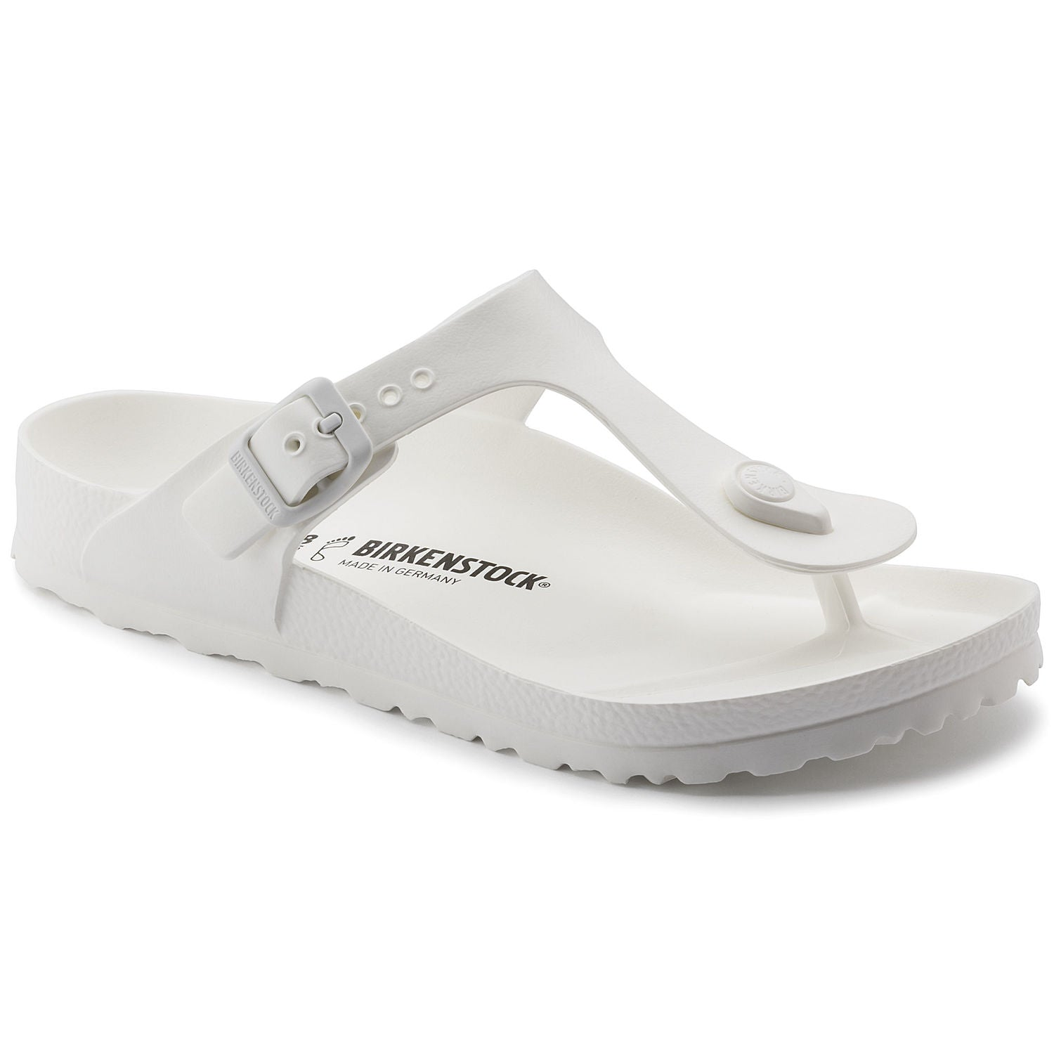 Women's Birkenstock Gizeh Essentials EVA White