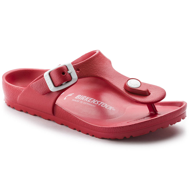 Women's Birkenstock Gizeh Essentials EVA Red