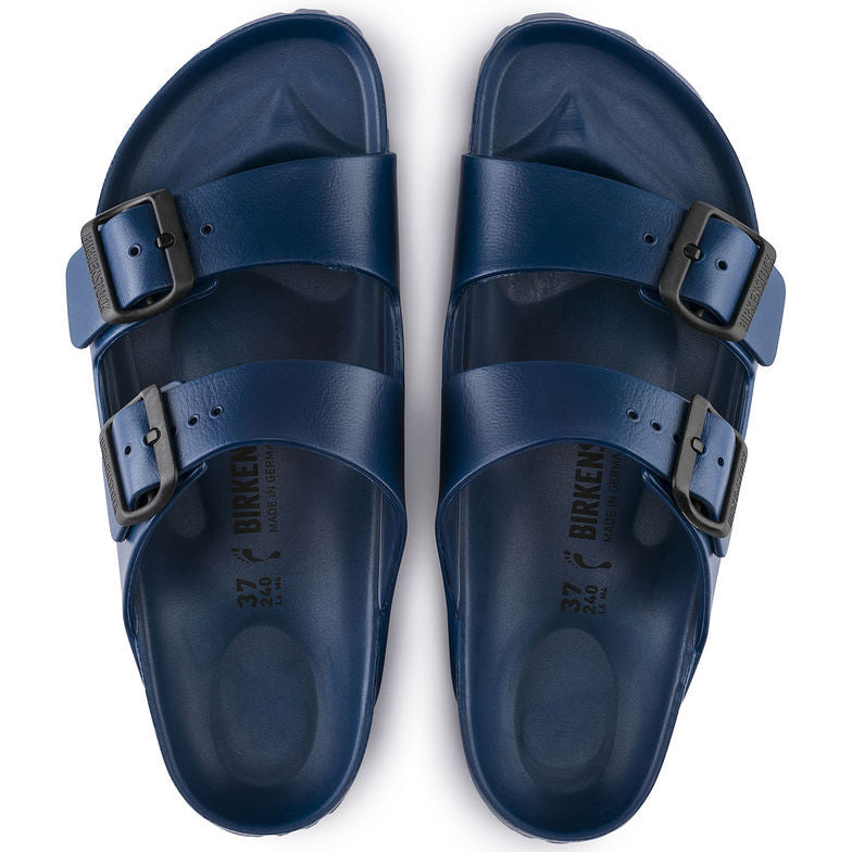 4f3ed87f3a43 Men s Birkenstock Arizona Essentials EVA Pool Slide Sandals - Navy