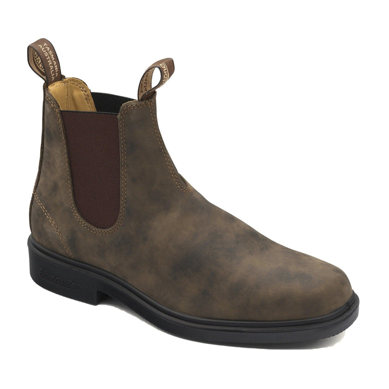 Blundstone Men's Dress 1306 Chelsea Boots - Rustic Brown