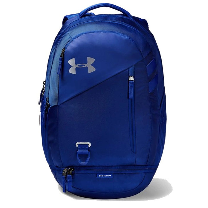 Under Armour UA Hustle 4.0 Backpack - Royal/Silver