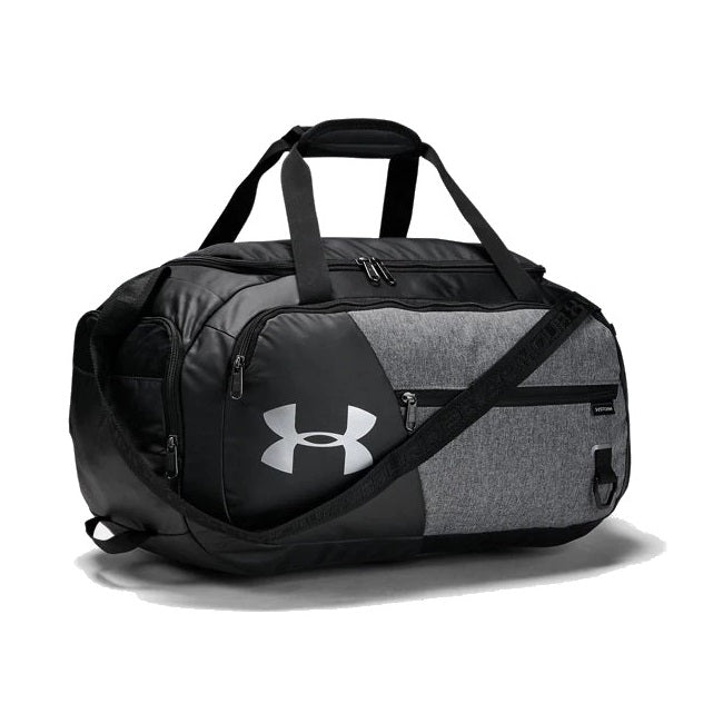 Under Armour UA Undeniable Duffel 4.0 Small Duffle Bag - Graphite Medium Heather/Black