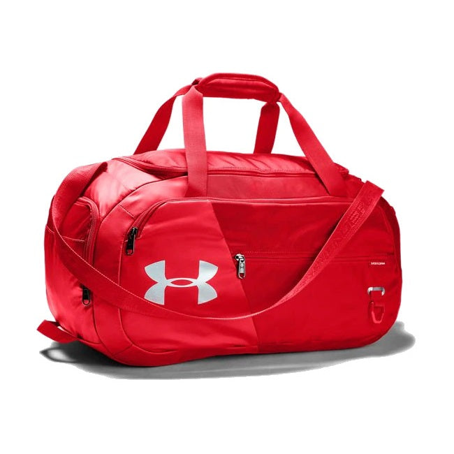 Under Armour UA Undeniable Duffel 4.0 Small Duffle Bag - Red/Silver