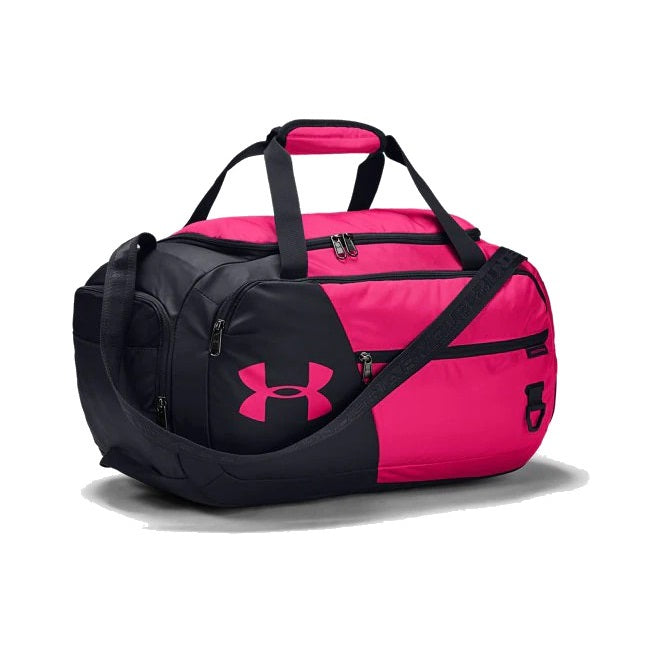 Under Armour UA Undeniable Duffel 4.0 Small Duffle Bag - Cerise/Black/Cerise
