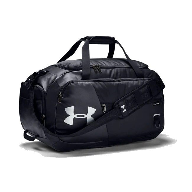 Under Armour UA Undeniable Duffle 4.0 Medium Duffle Bag - Black/Silver