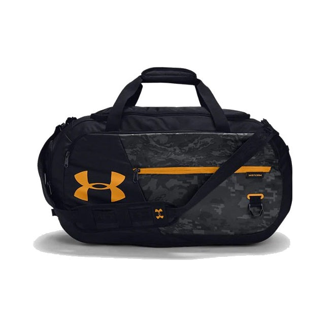 Under Armour UA Undeniable Duffle 4.0 Medium Duffle Bag - Black/Golden Yellow