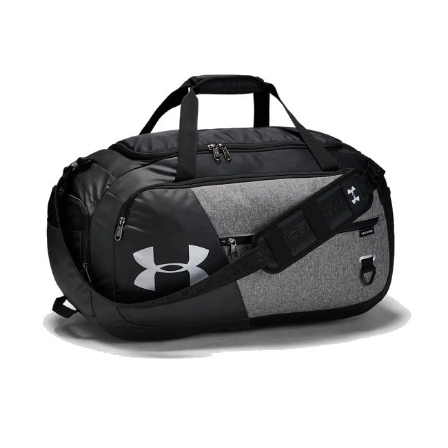 Under Armour UA Undeniable Duffle 4.0 Medium Duffle Bag - Graphite Medium Heather/Black