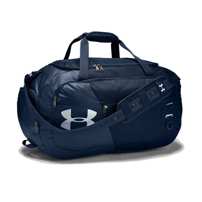 Under Armour UA Undeniable Duffle 4.0 Medium Duffle Bag - Academy/Silver