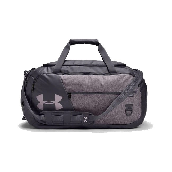 Under Armour UA Undeniable Duffle 4.0 Medium Duffle Bag - Blackout Purple/Slate Purple Medium Heather/Slate Purple