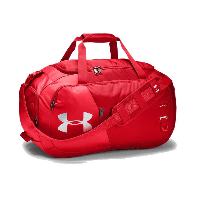 Under Armour UA Undeniable Duffle 4.0 Medium Duffle Bag - Red/Silver