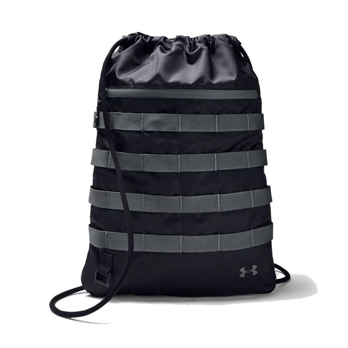 Under Armour UA Sportstyle Sackpack - Black/Pitch Gray