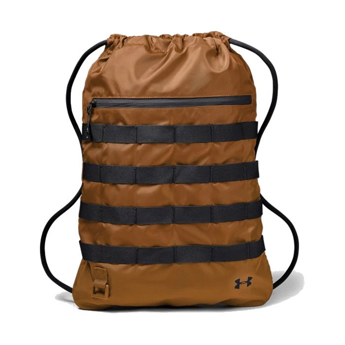 Under Armour UA Sportstyle Sackpack - Yellow Ochre/Black