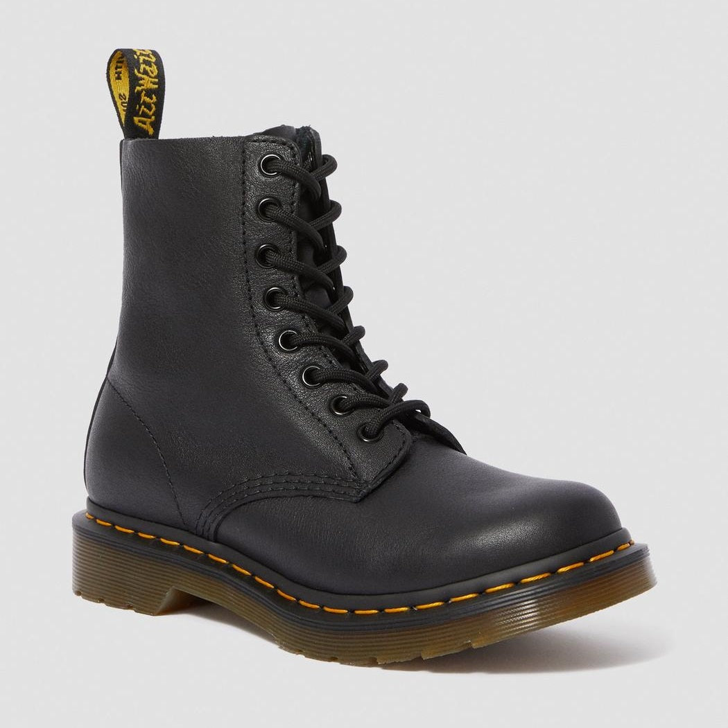 Dr. Martens Women's 1460 Pascal Virgina Leather Boots - Black