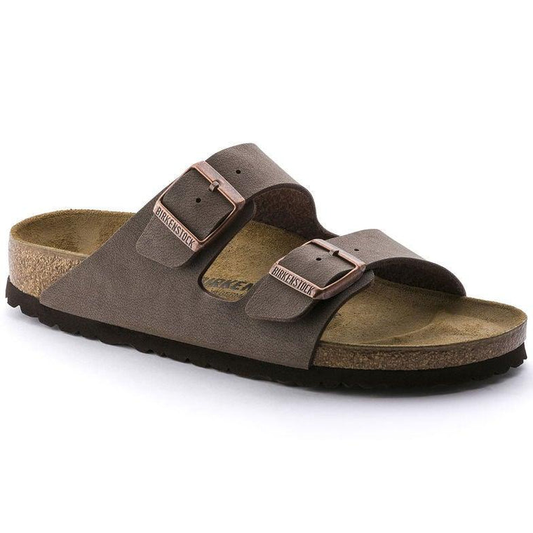 Men's Birkenstock Arizona Birkibuc - Mocha
