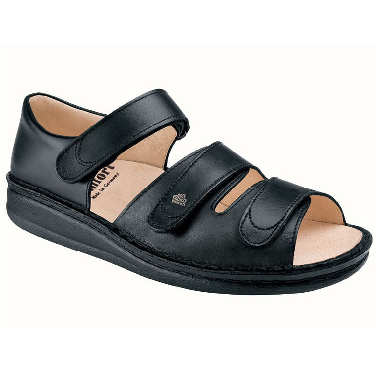 Women's Finn Comfort Baltrum - Black Nappa