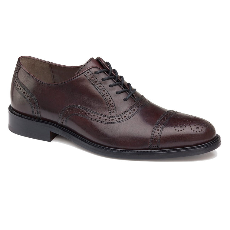 Men's Johnston & Murphy Daley Cap Toe - Burgundy