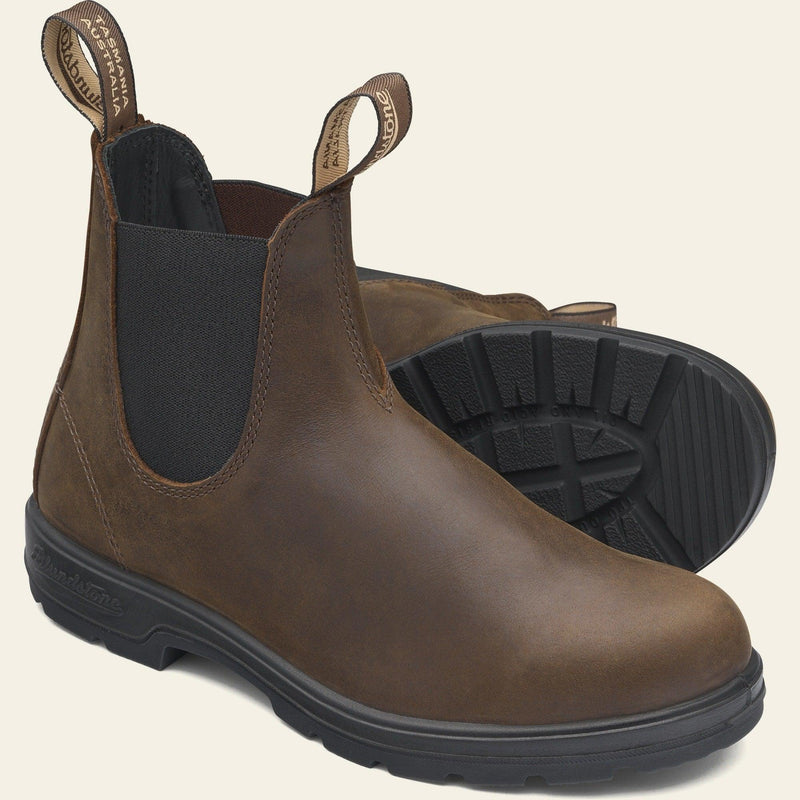 Blundstone Unisex Classic 1609 Chelsea Boots - Antique Brown