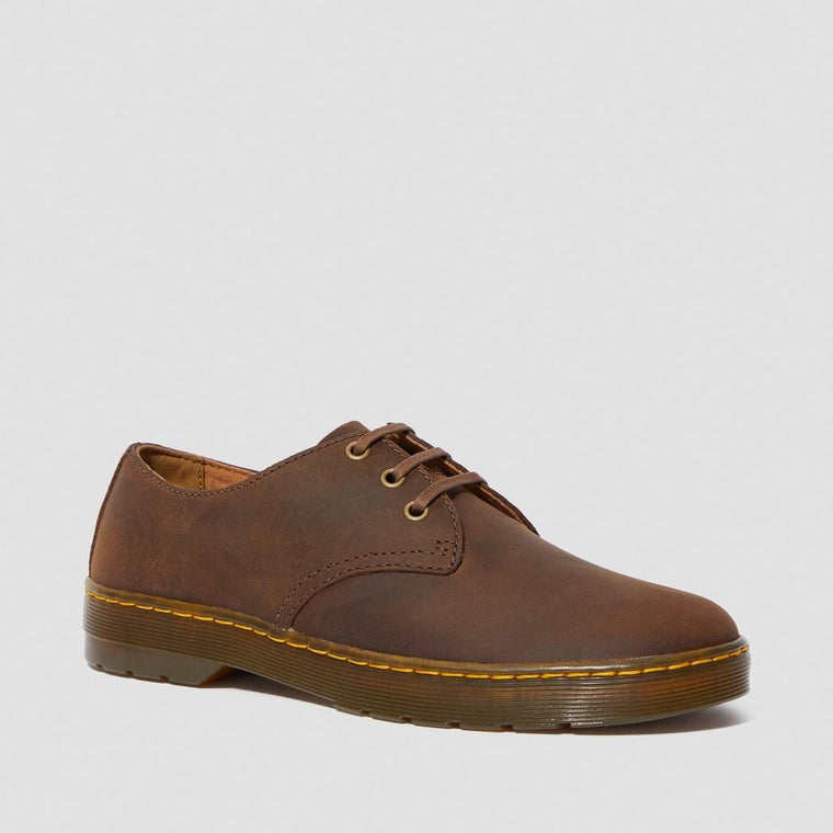 Dr. Martens Men's Coronado Crazy Horse Leather Casual Shoes - Gaucho Crazy Horse