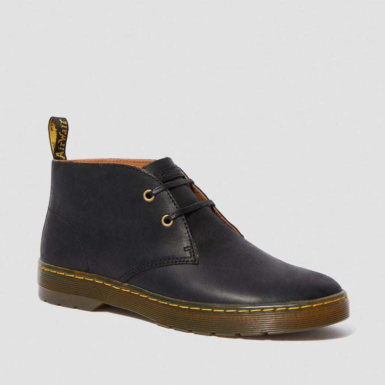 Dr. Martens Men's Cabrillo Wyoming Leather Desert Boots - Black Wyoming